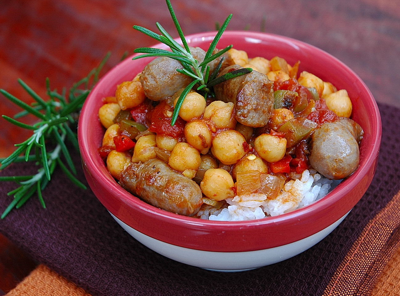 Spicy Chickpea Stew - My Easy Cooking
