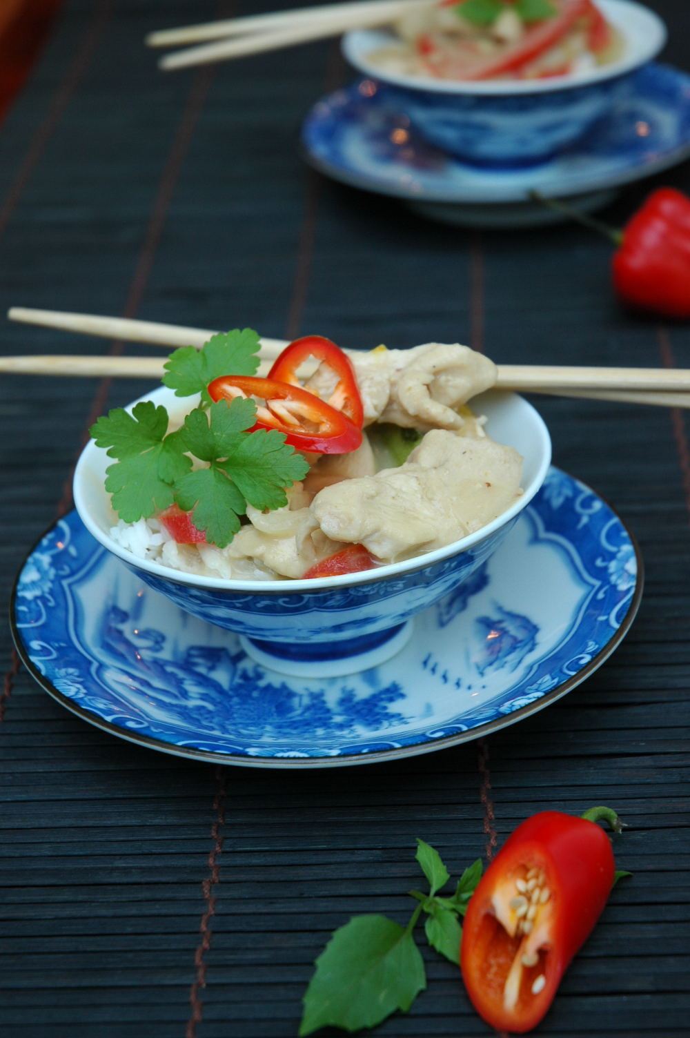 Thai Green Chicken Curry - My Easy Cooking