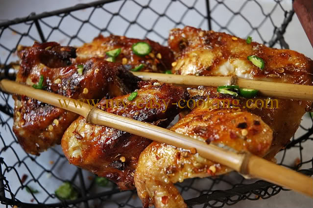 Bamboo Skewered Chicken