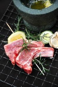 Lamb Rosemary Garlic-and Lemon