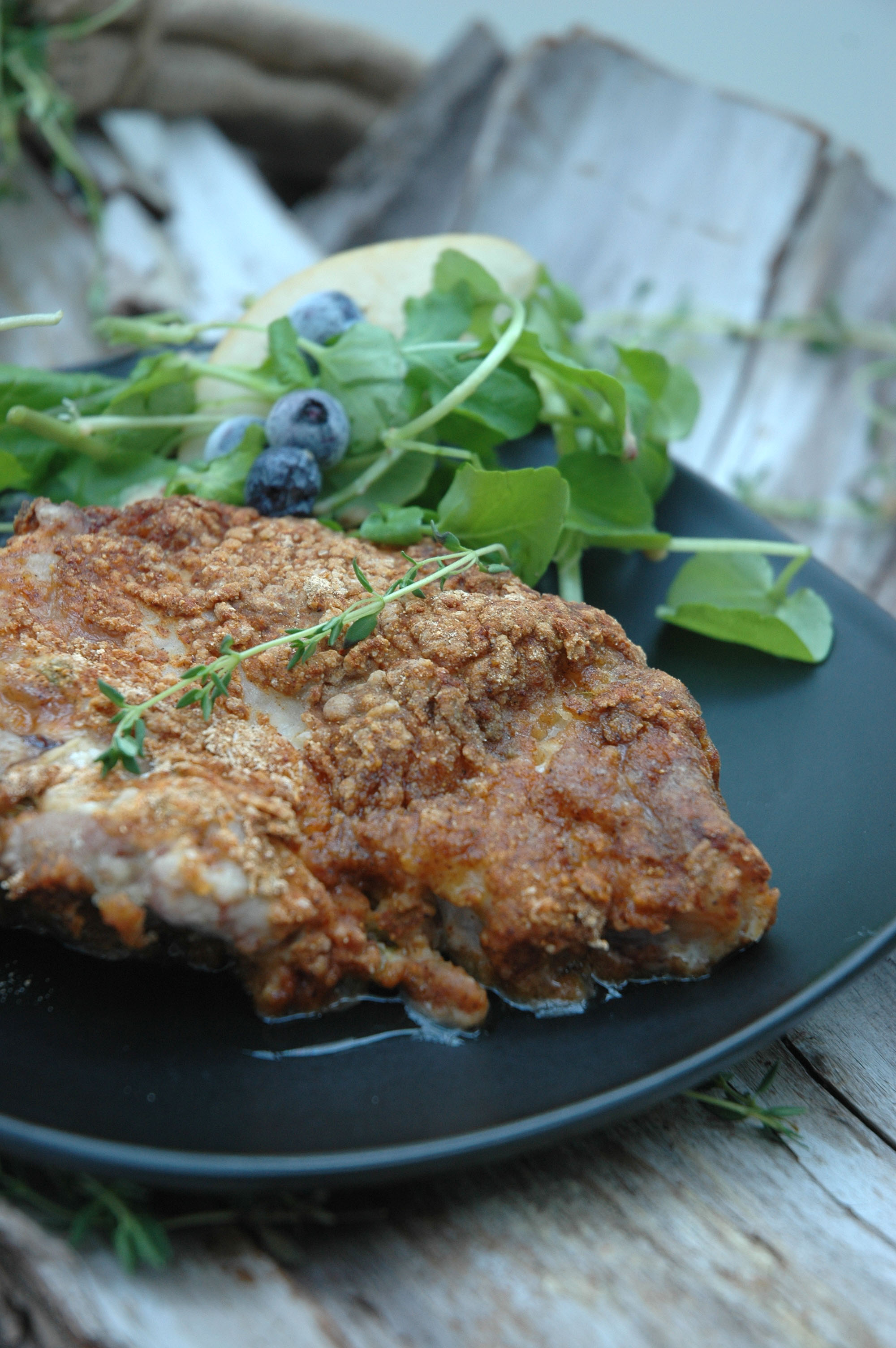 Recipes for crumbed pork chops
