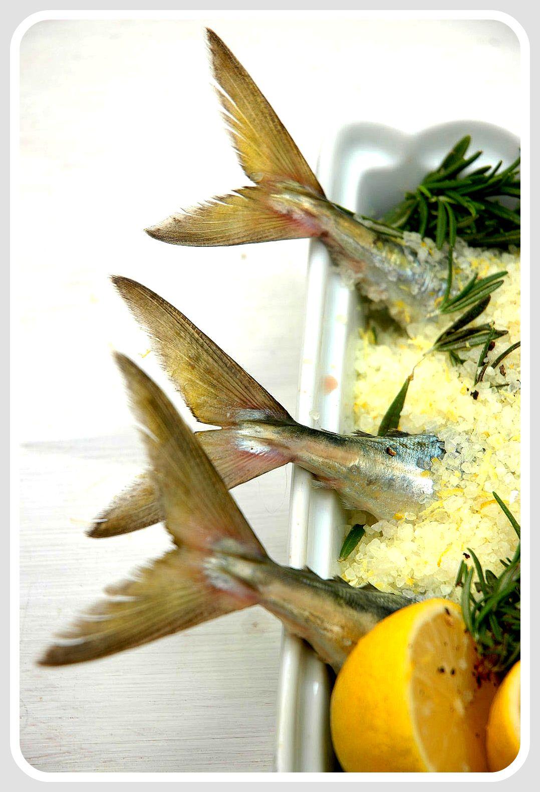 Mackerel Baked In Lemon Flavored Salt My Easy Cooking