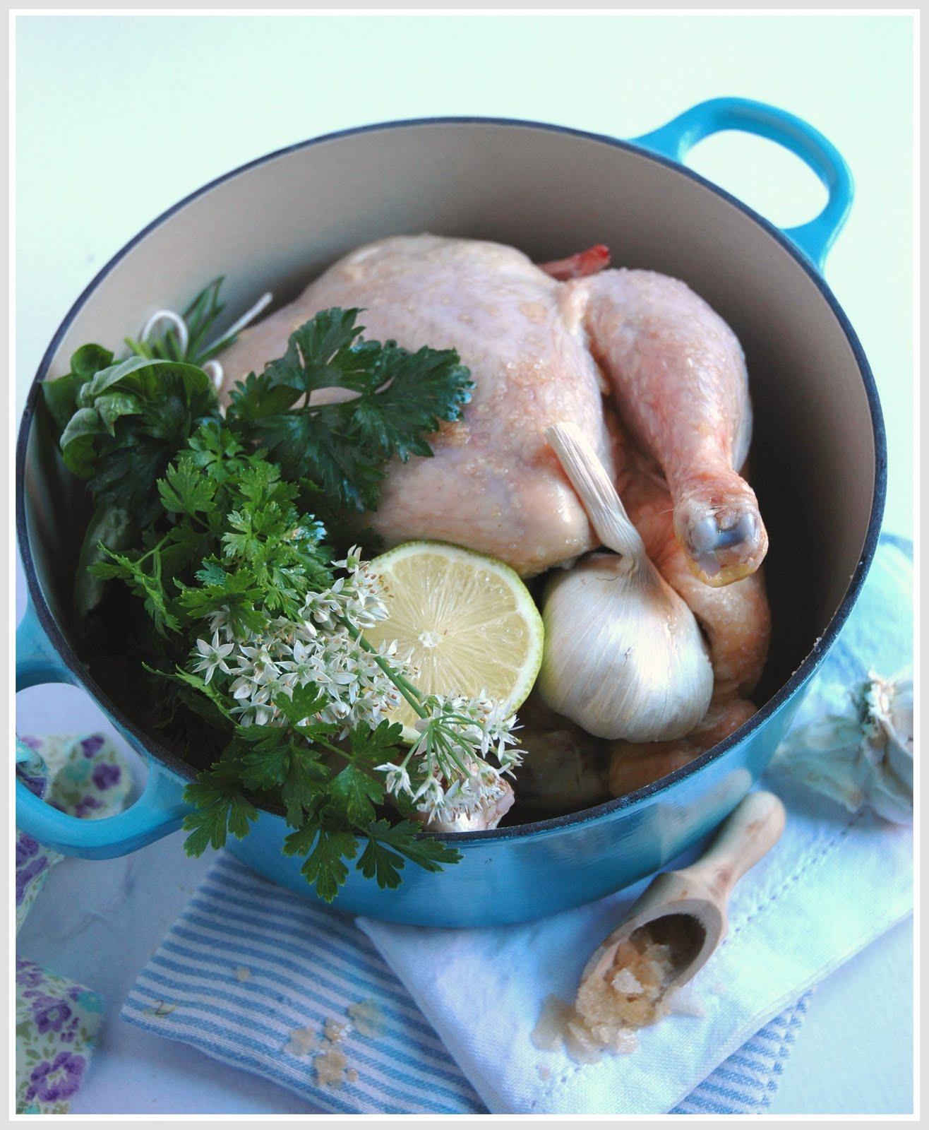 how to cook pot roast chicken