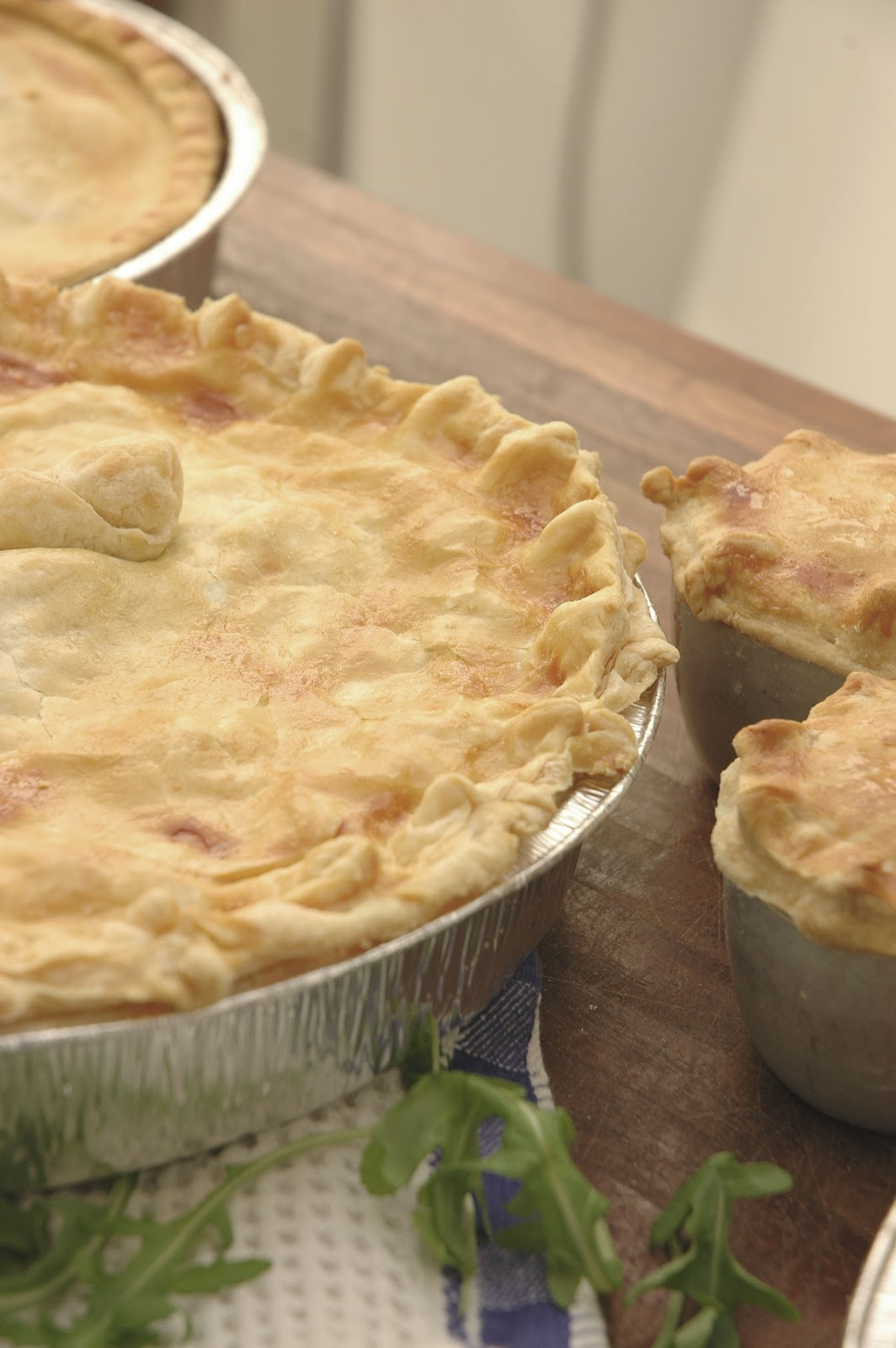 my easy chicken pot pies to celebrate the arrival of autumn - my