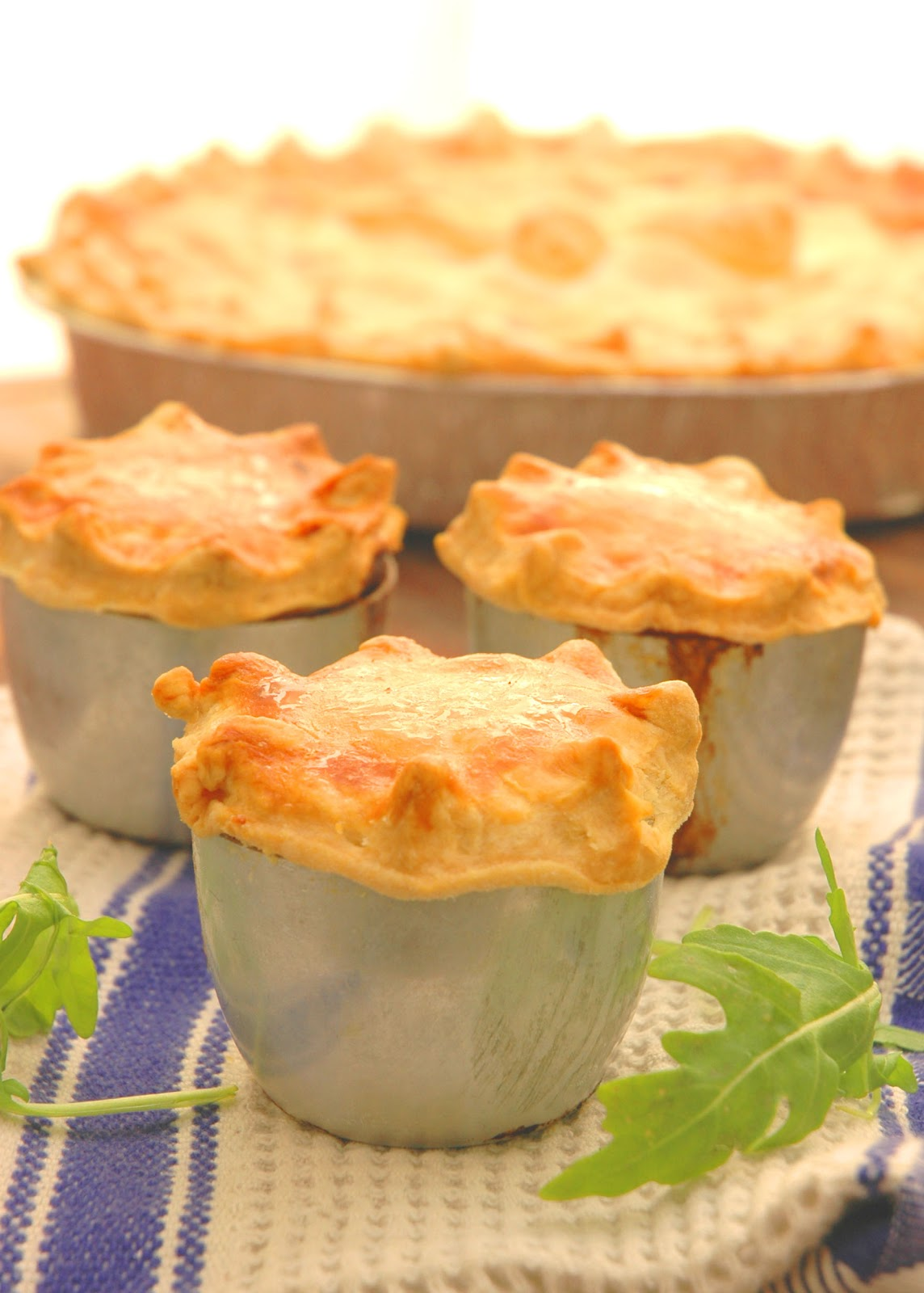 My Easy Chicken Pot Pies to celebrate the arrival of Autumn - My Easy ...