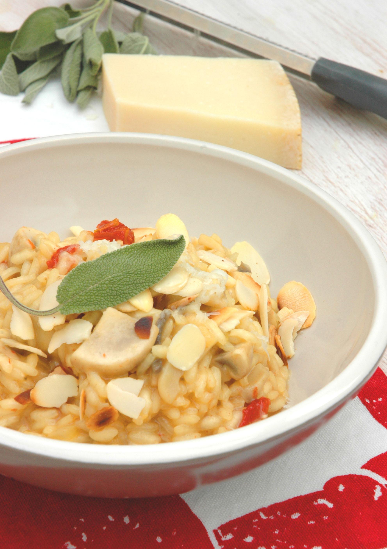 Parmesan Rice Pudding