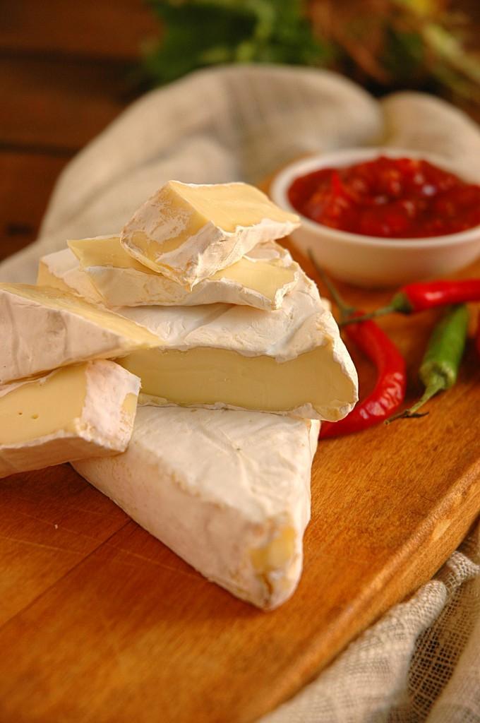 Ham Brie Peppadew Guesadillas