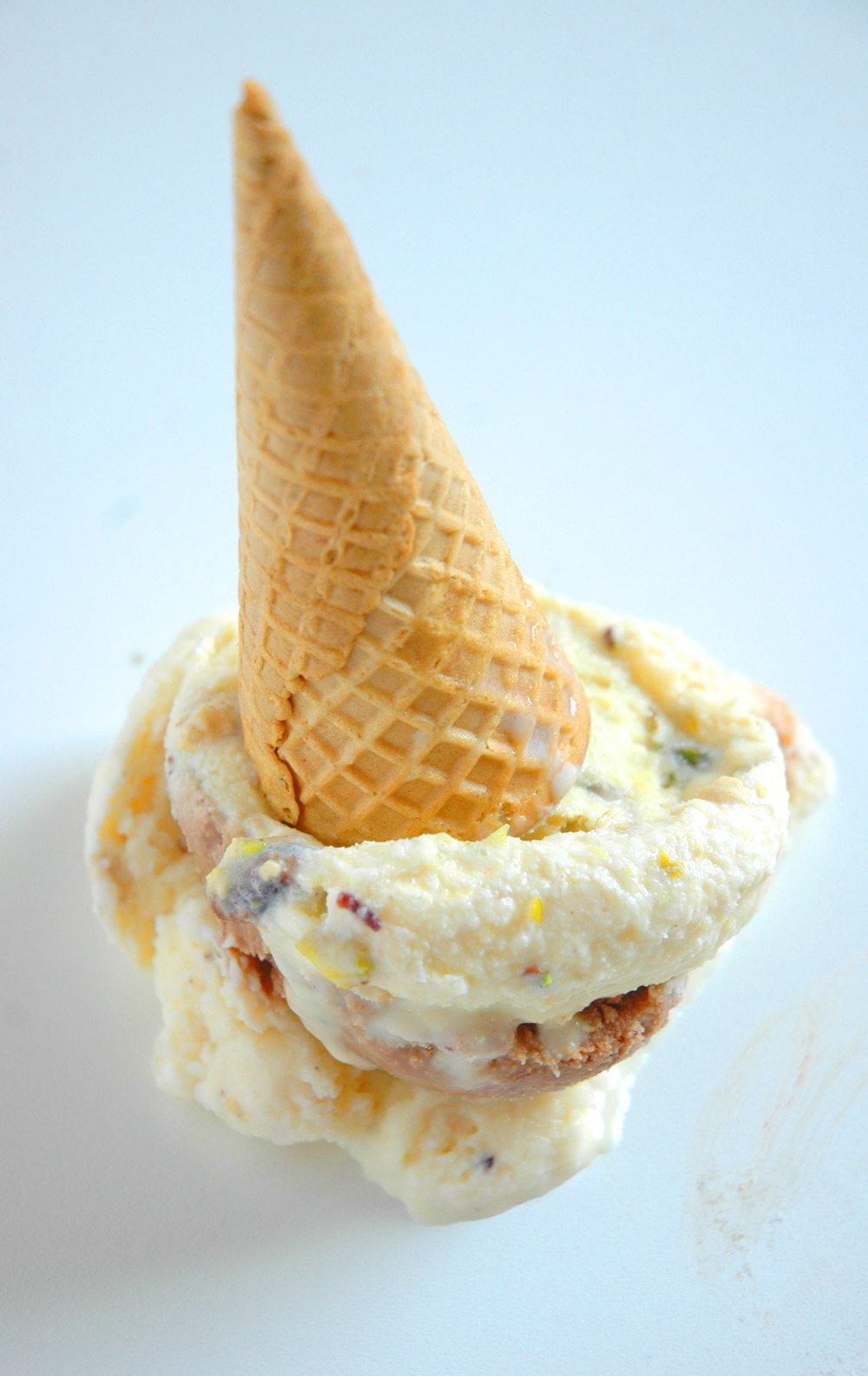 Halva Ice-cream in three different flavors - My Easy Cooking