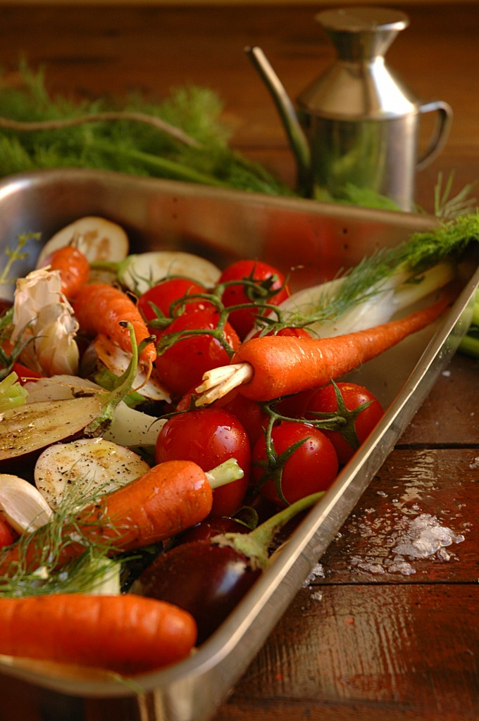 Recipe for roast vegetables