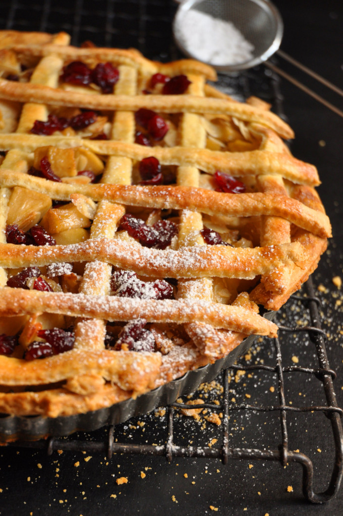 tart apple cranberry pie cranberry apple slab pie apple cranberry