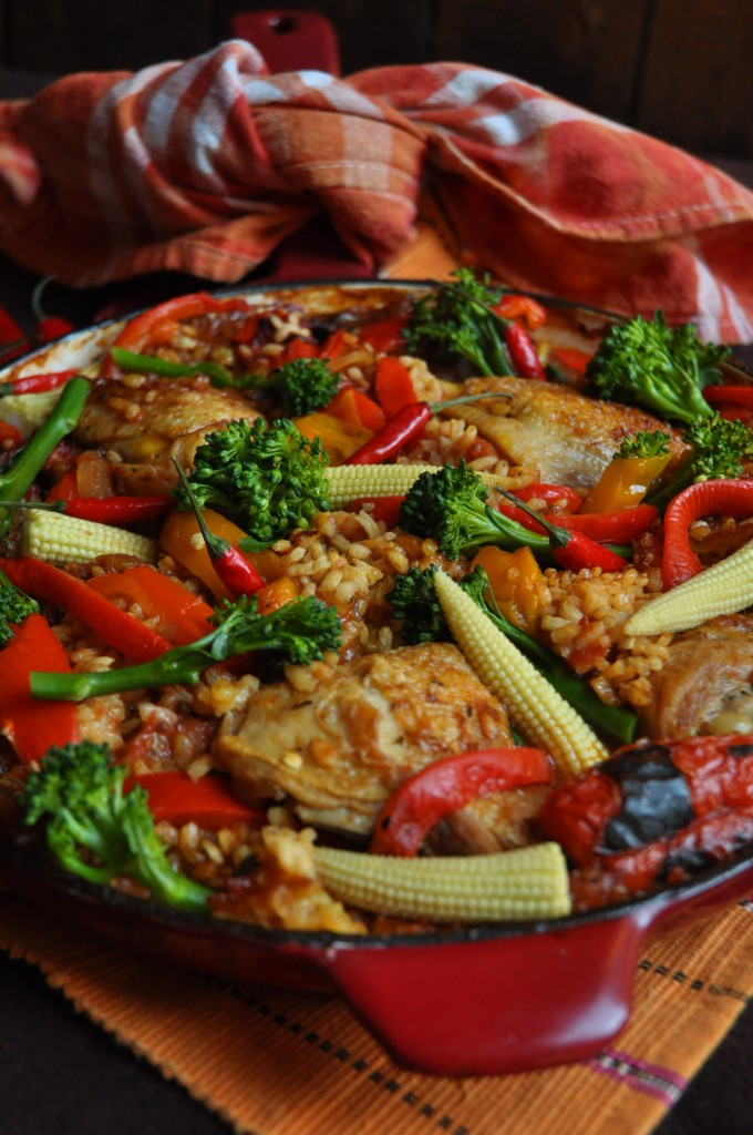 Spanish Chicken and rice and choosing the right pan! - My Easy Cooking