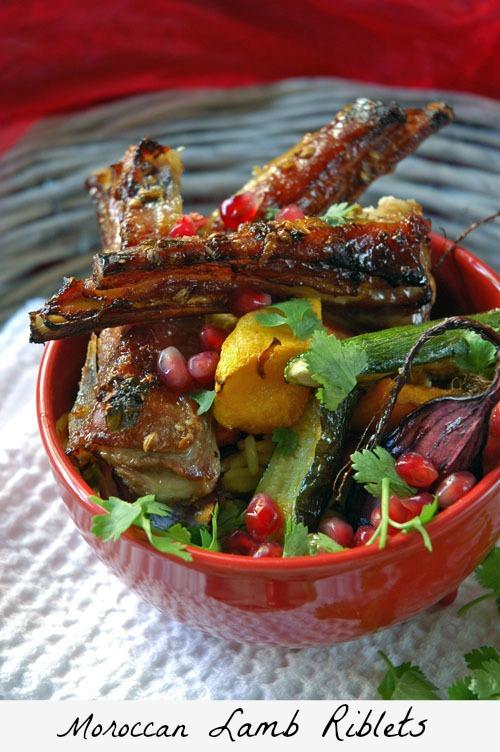 Moroccan Lamb Riblets