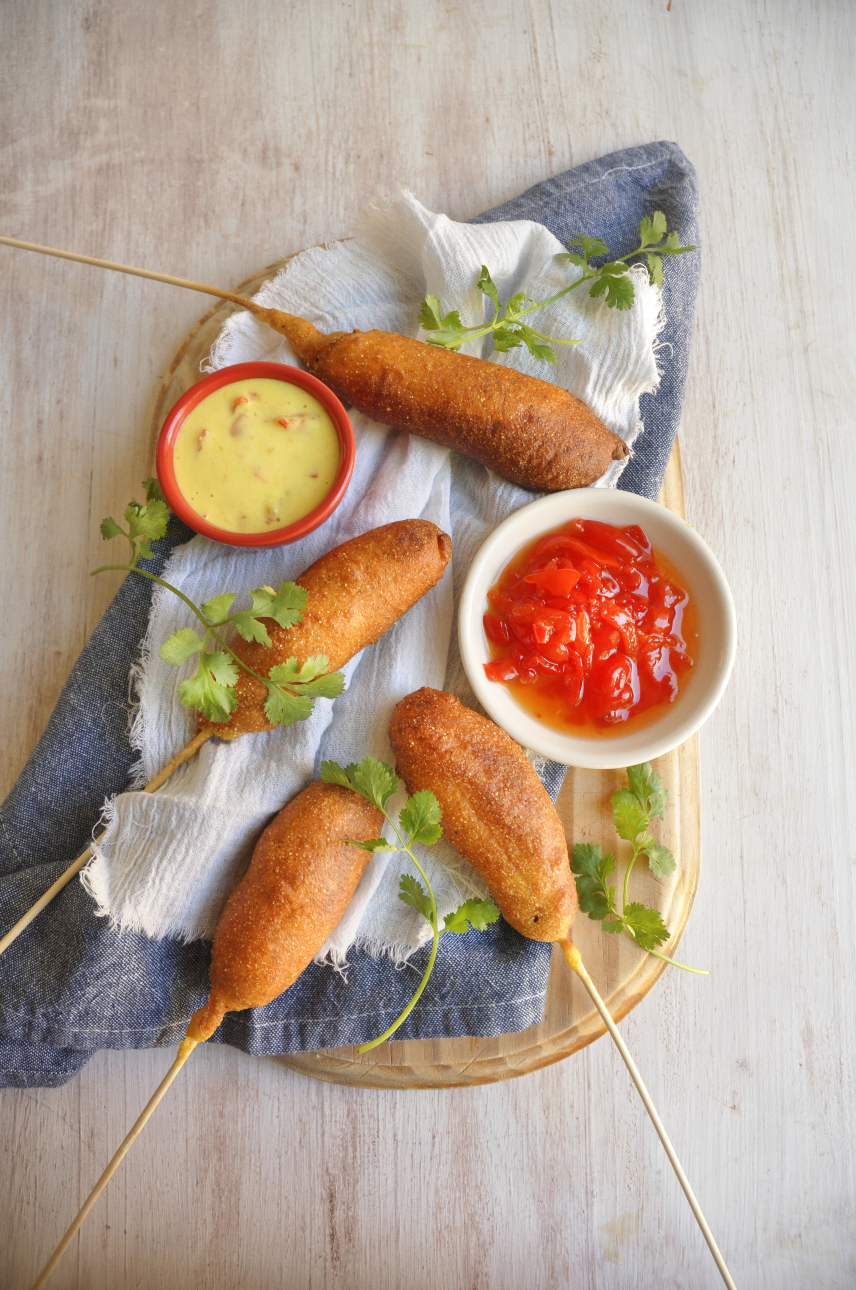 Spicy Corn Dogs