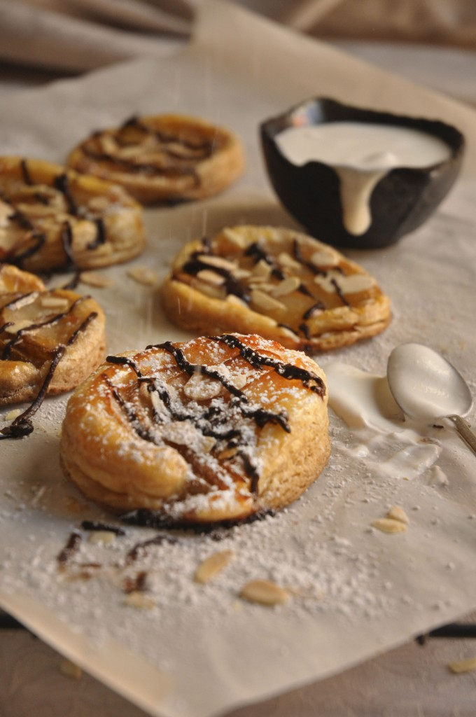 pear tartlets