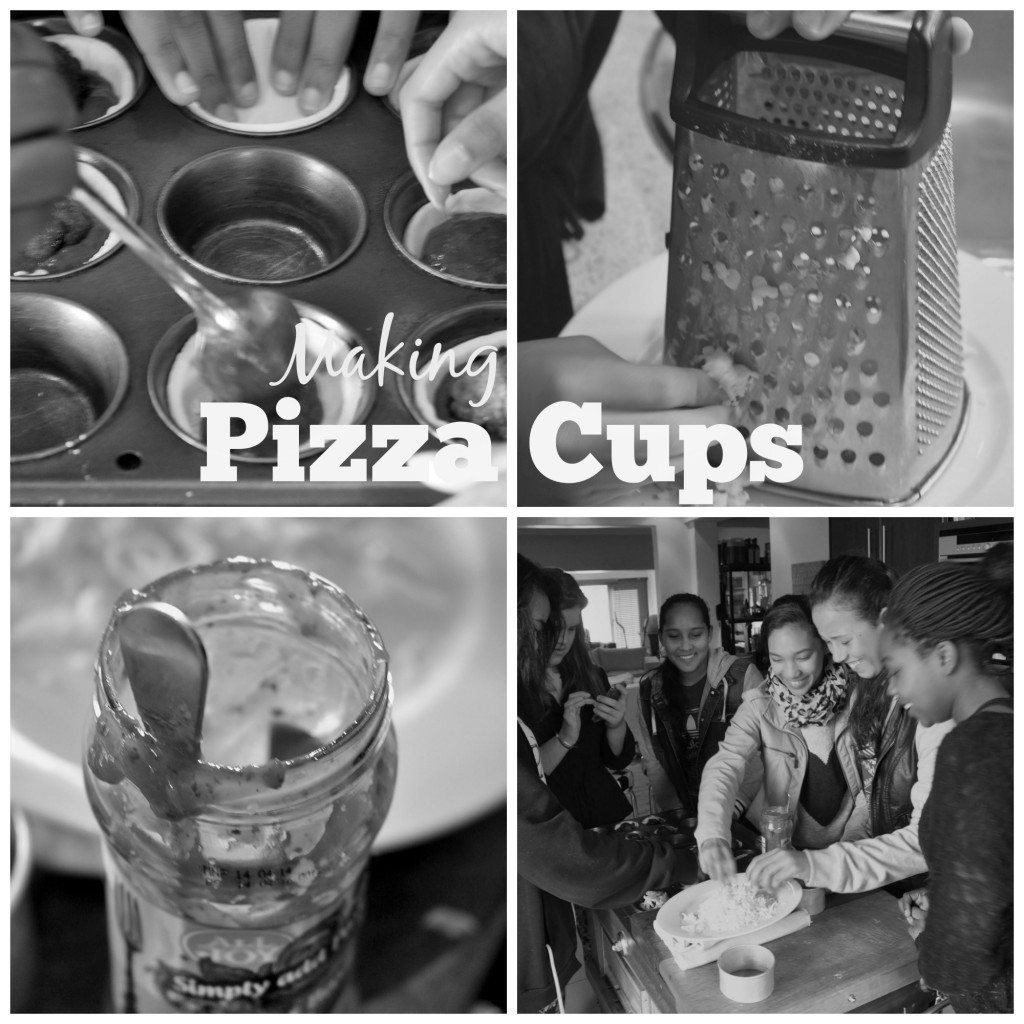 pizza cups – your kids will love them!