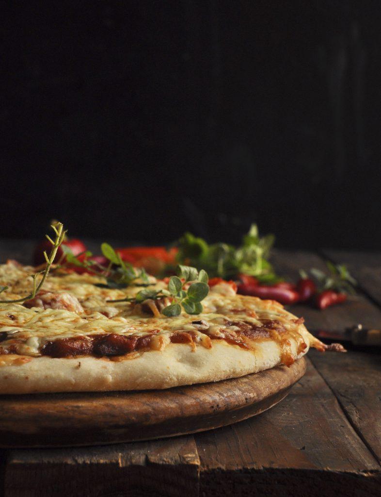 quick antipasto pizza