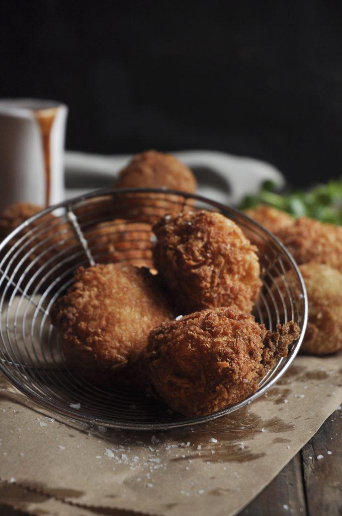 Leftover Potato Croquettes