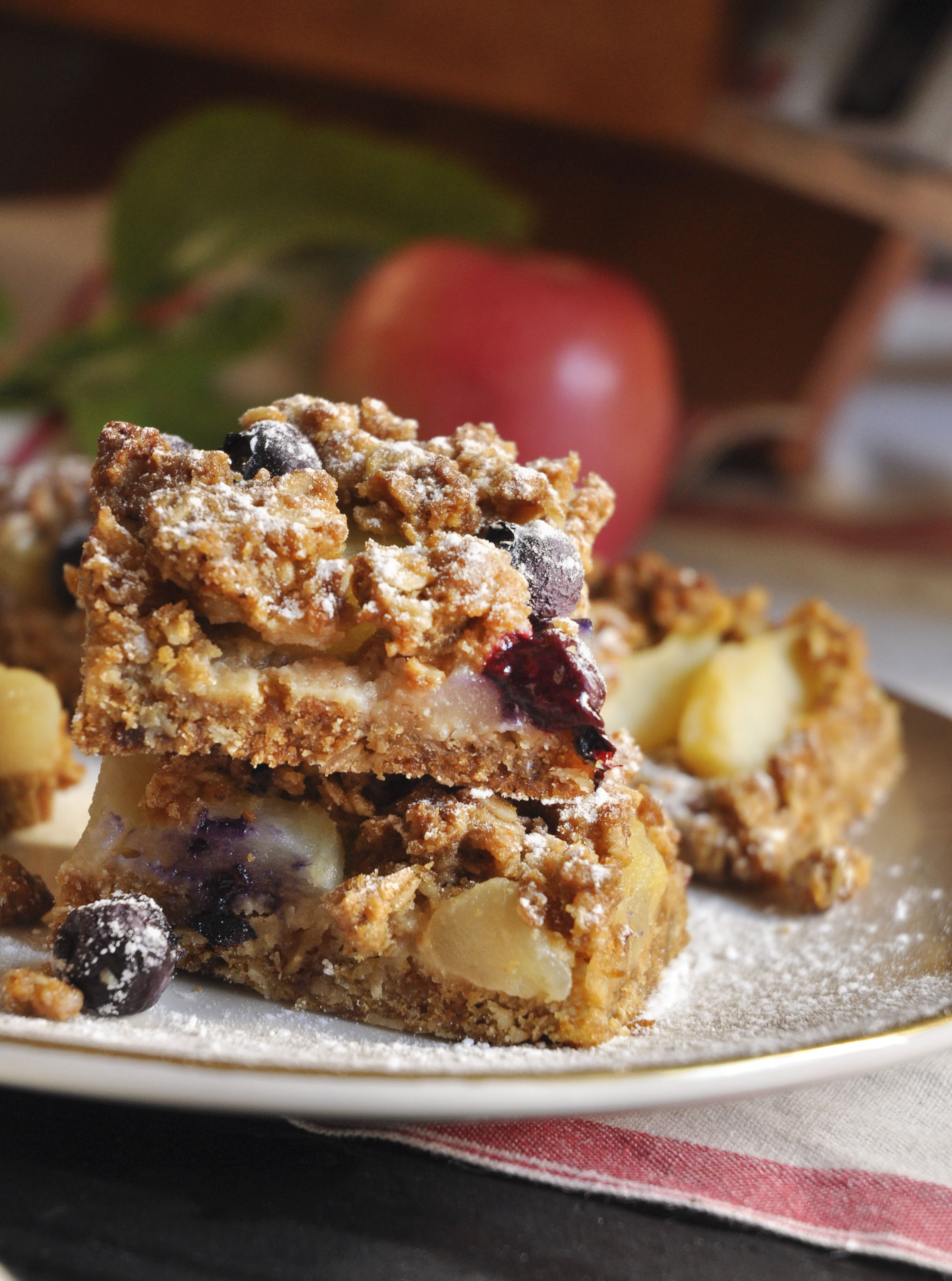 Apple and berry Slices