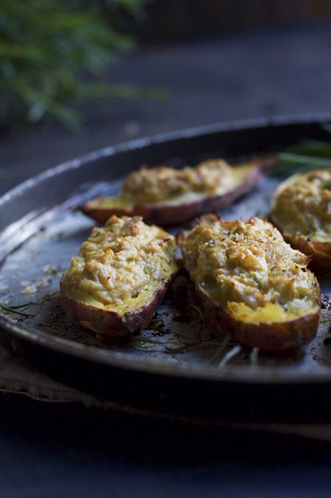 Tuna Sweet Potato Bakes