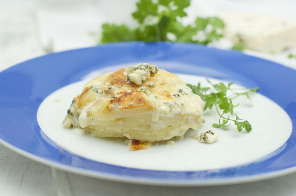 Blue Cheese Potato Bake