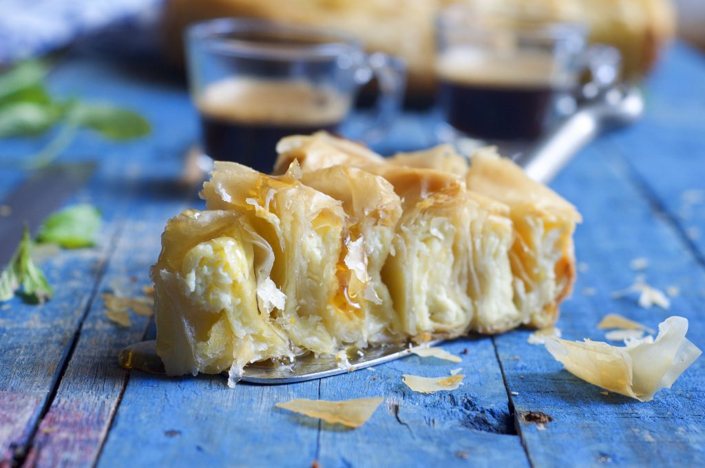 Spiral Phyllo Cheese Pie