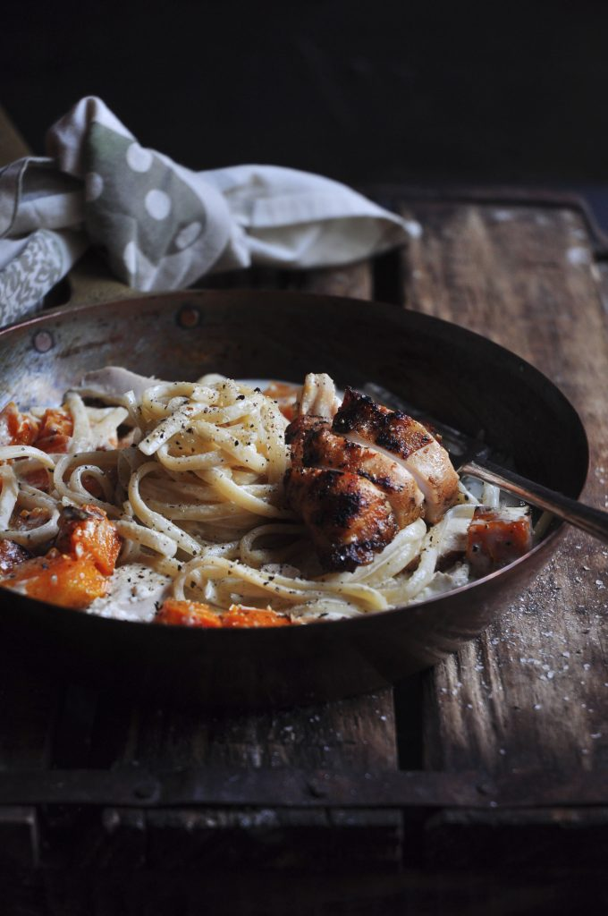 Creamy Roasted Chicken Tagliatelle 1