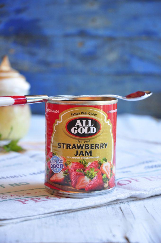 Strawberry Sago Pudding