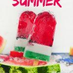 Watermelon Lollies