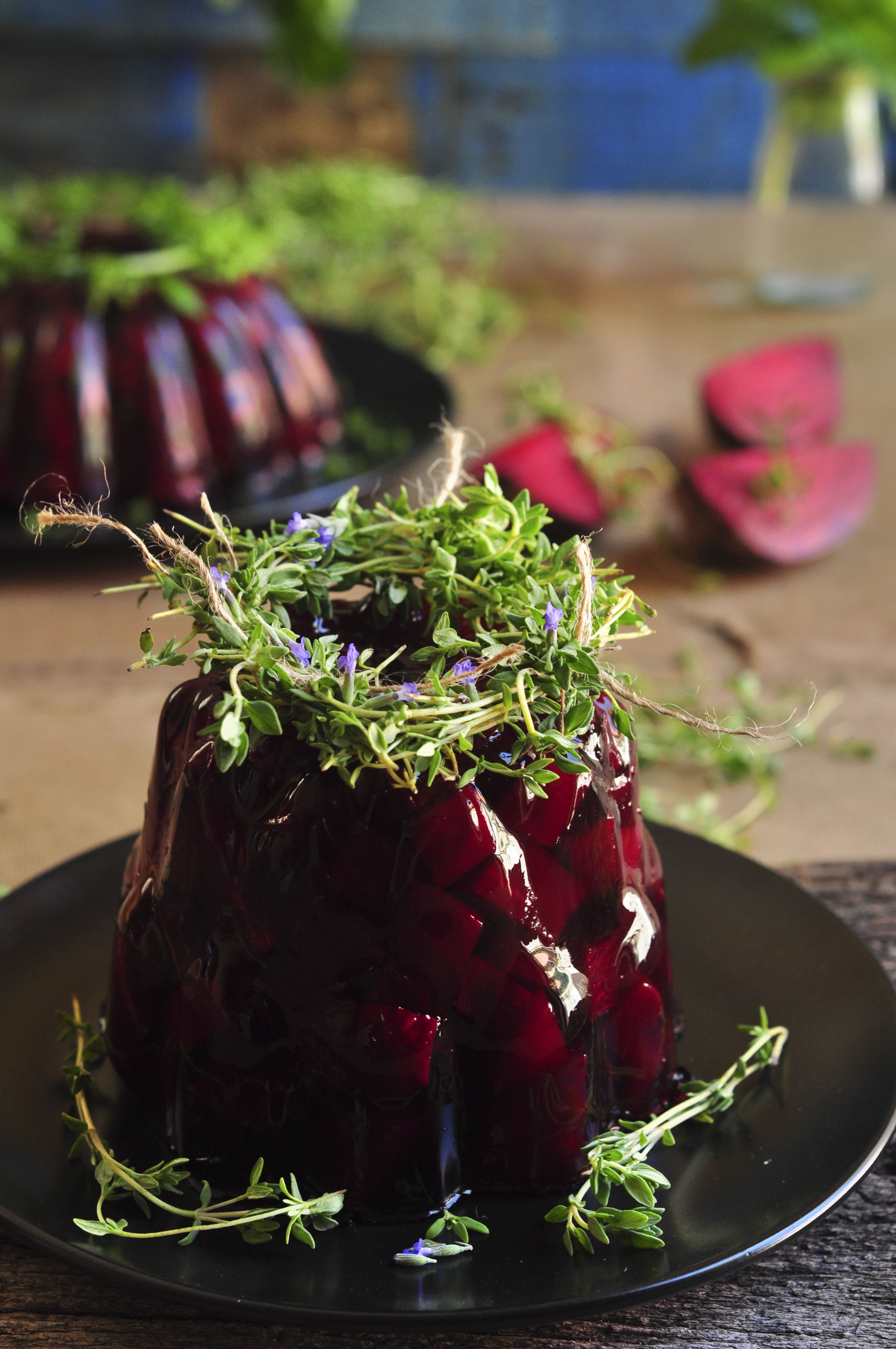 Spiced Jellied Beetroot Salad