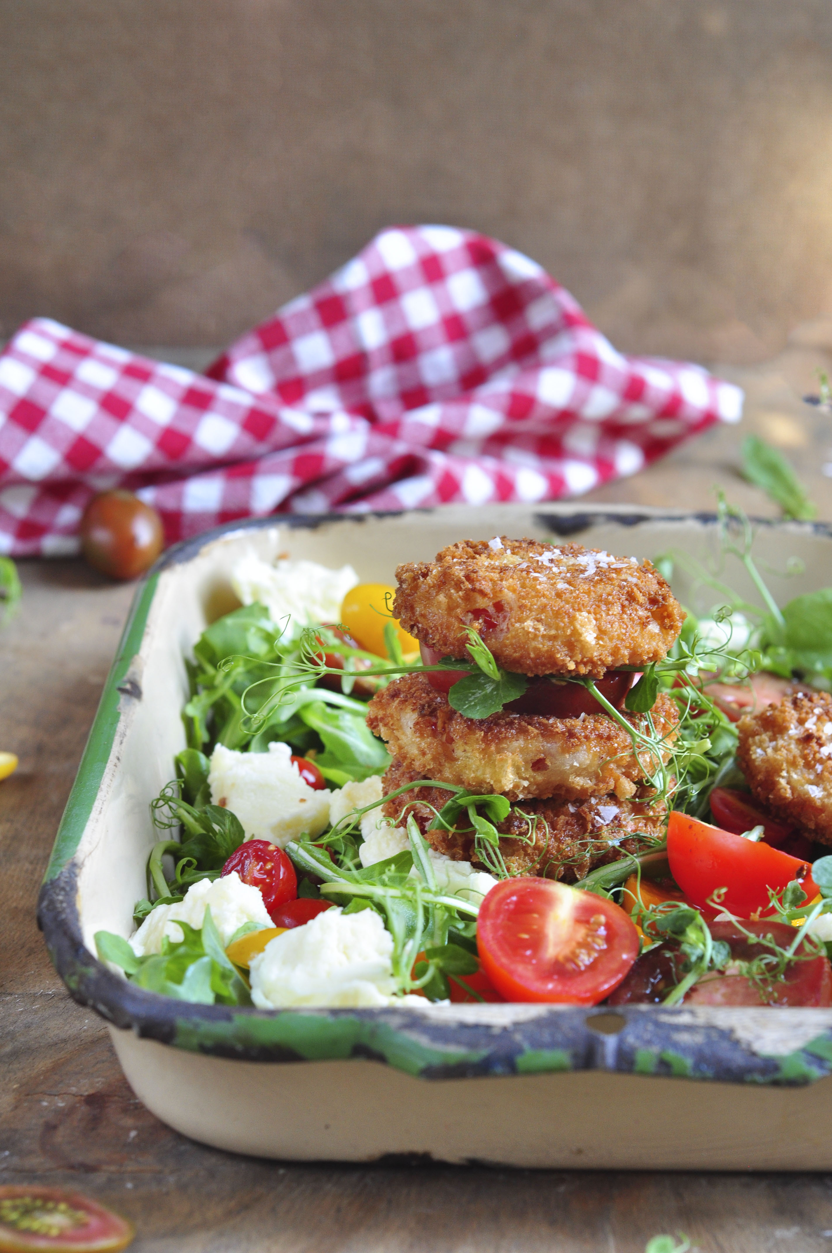 Fried Tomato salad