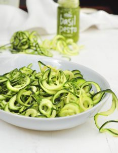 Zoodles with Pesto