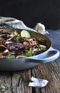 Smokey Chicken with Beans