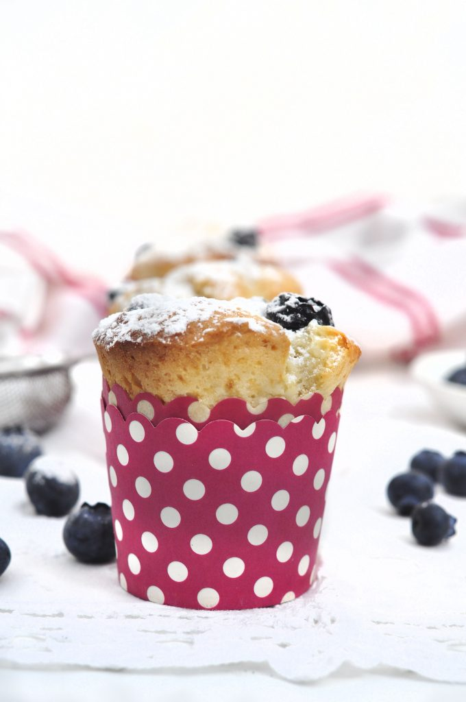 Blueberry Yogurt Muffins