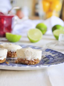 Mini Yogurt Cheesecakes