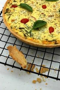 Quiches-Tomato, Spinach and Ricotta
