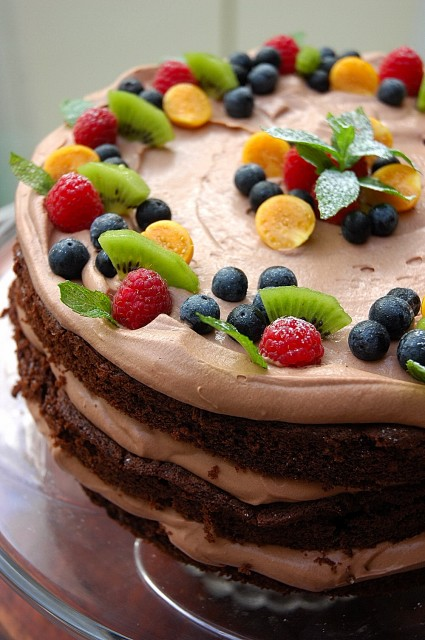 chocolate mousse filling recipe for wedding cake chocolate mousse cake my easy cooking 12728