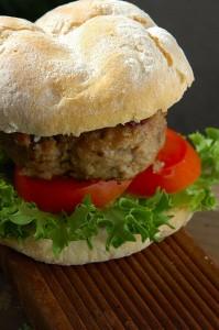 Lamb burger recipe