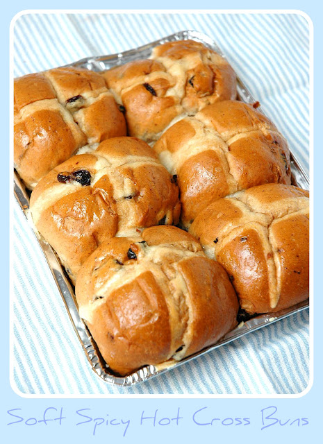 hot cross bun bread