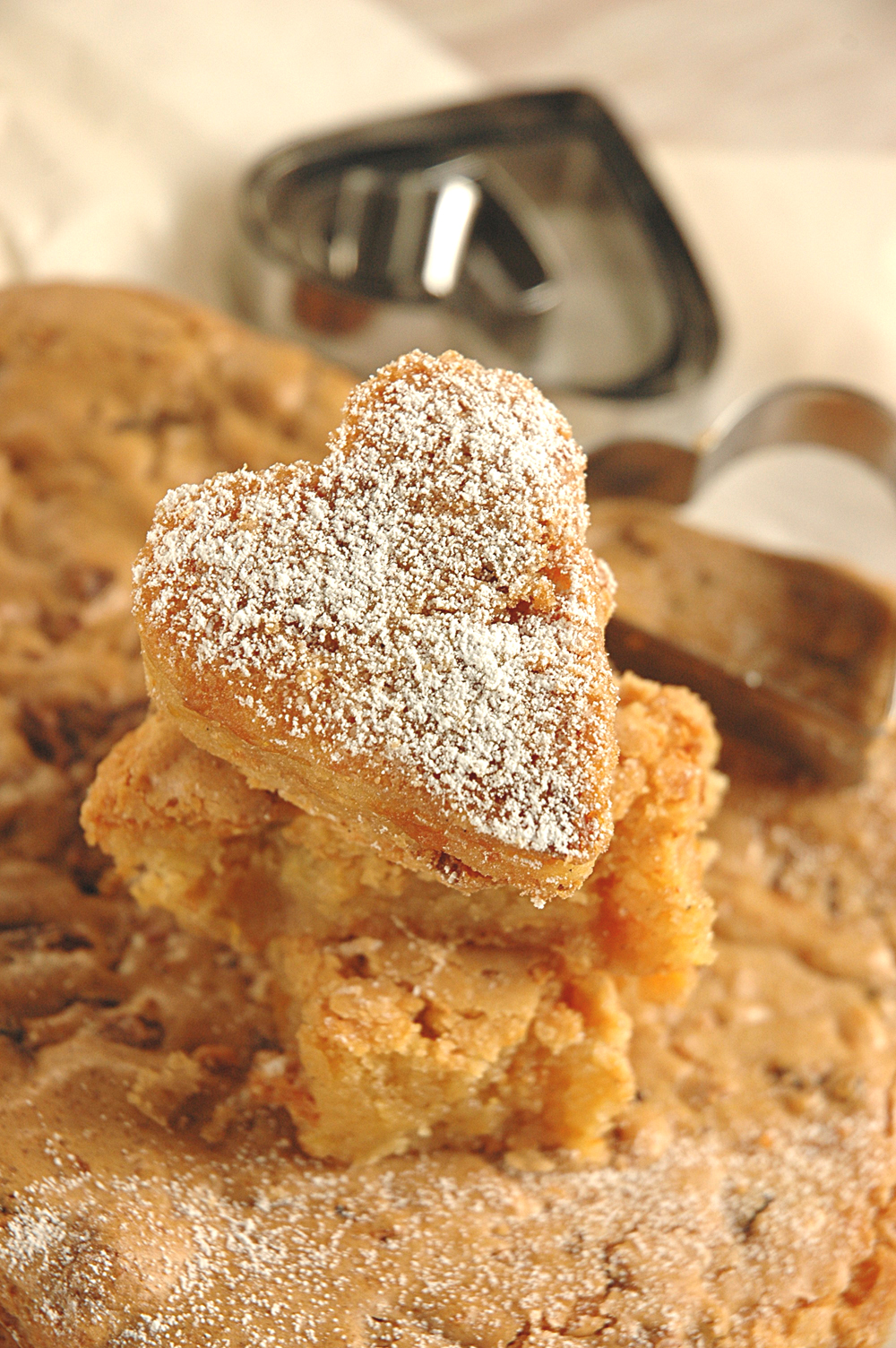 Apricot and White Chocolate Blondies