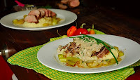 pork-fillet-with-a-creamy-mushroom-and-sweet-wine-sauce