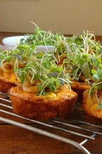 Mini Savory Cheesecakes