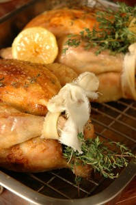 oven-roasted chicken