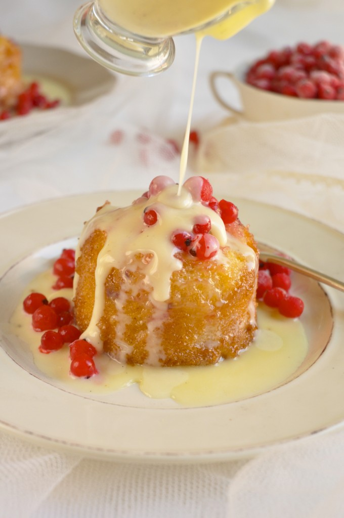 White Chocolate Malva Pudding