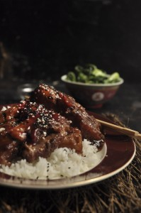 Chinese Pork with Plum sauce - My Easy Cooking