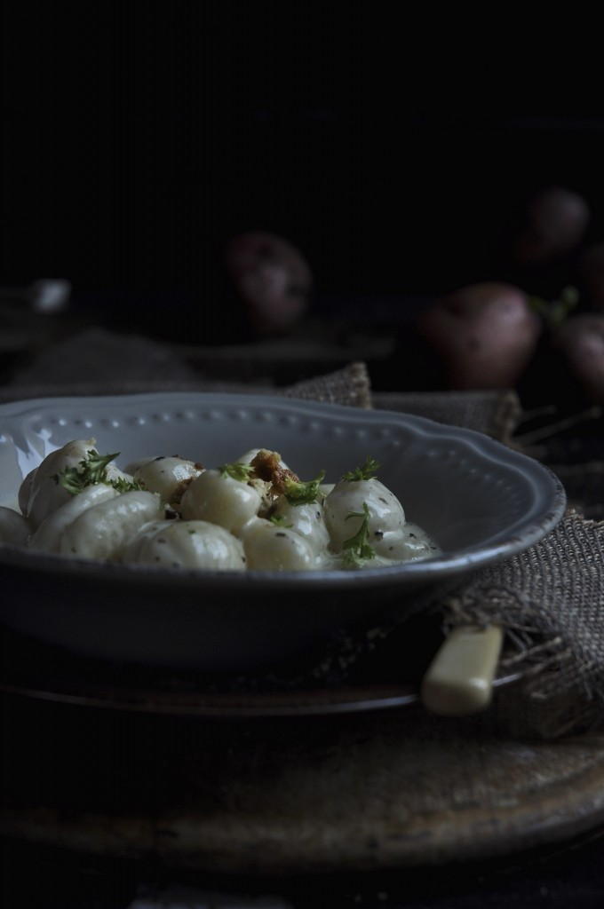 Blue Cheese Gnocchi
