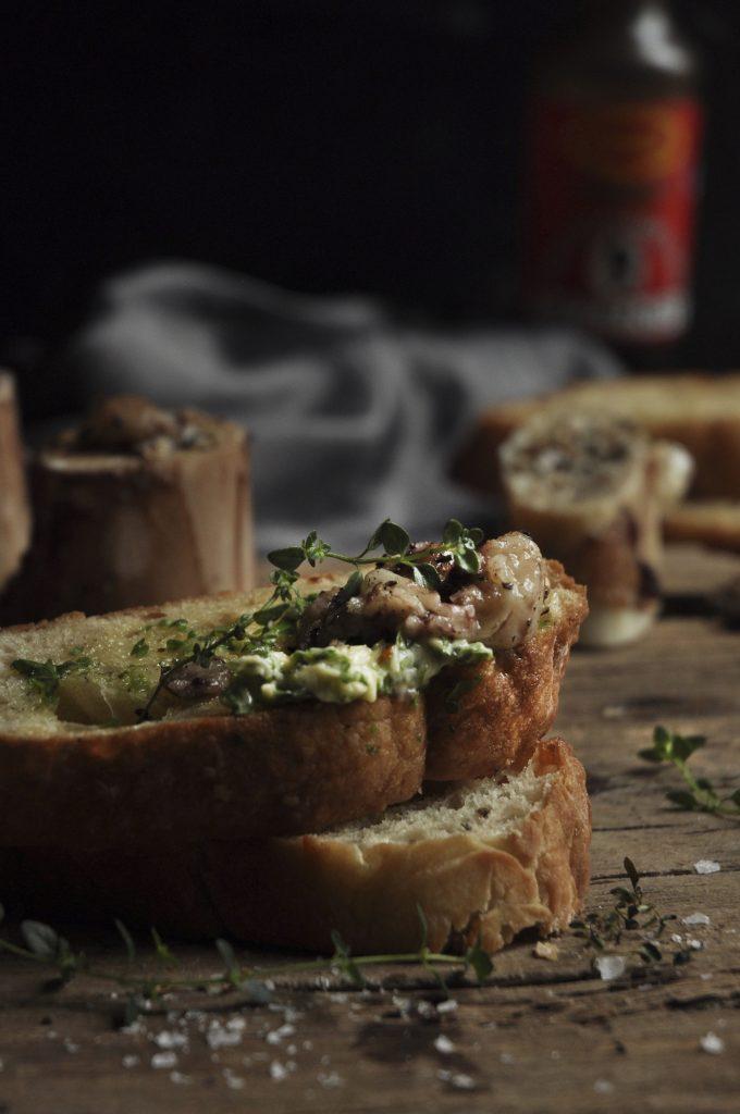 roasted marrow bones
