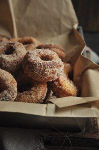 pumpkin doughnuts