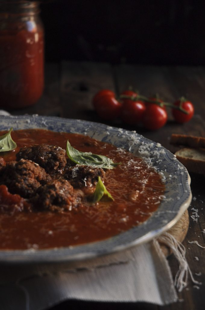 Chunky Tomato Bean Soup