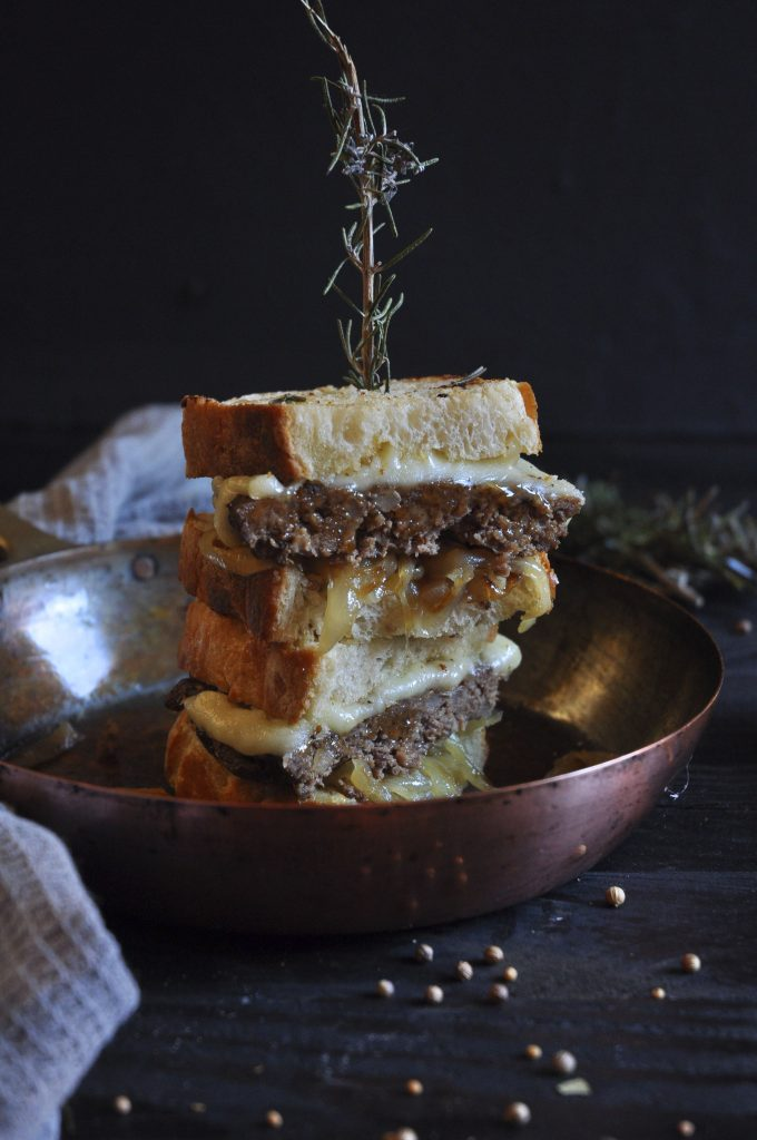 The other key element of these sandwiches are the braised onions, but we will talk about that in the recipe.