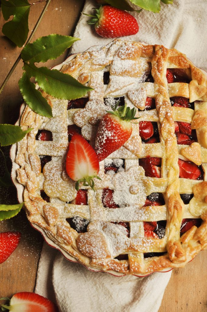 Berry Lattice tart